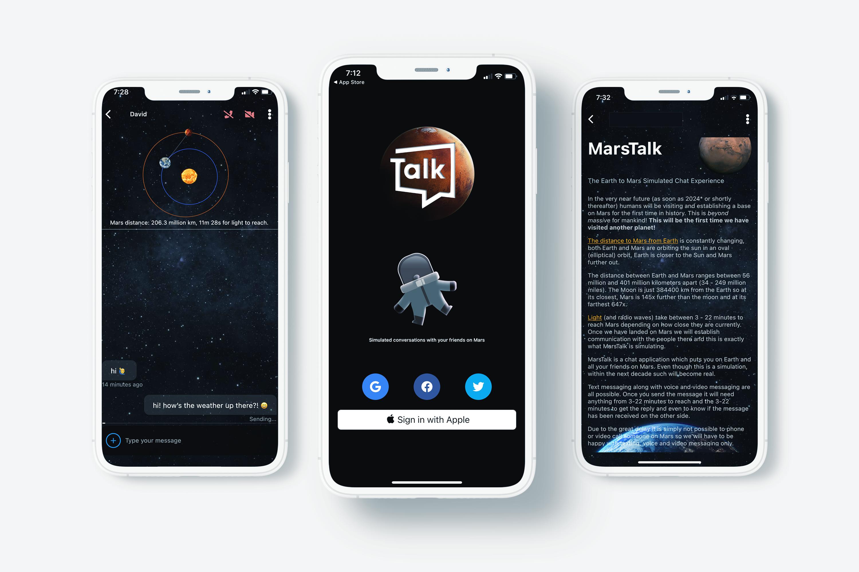 Marstalk Mobile Development project